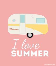 #Summer #Caravane #Pink