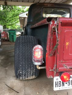 1953 rat rod tail lights