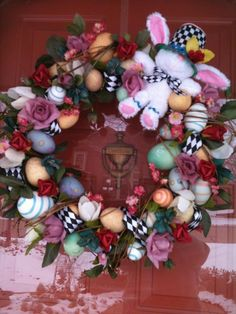 "MY Easter Wreath ""Mackenzie Child's Inspired"""
