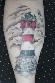 Tattoo-Foto: Leuchtturm