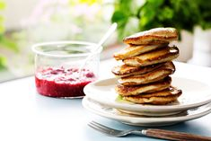 Low-Carb Coconut Pancakes - Dairy and Nut-Free - Diet Doctor