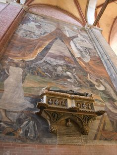 Basillica di San Giovanni e Paolo & Vicinity - Venice, Italy -- Cavalli Chapel  - condottiere Jacopo dei Cavalli