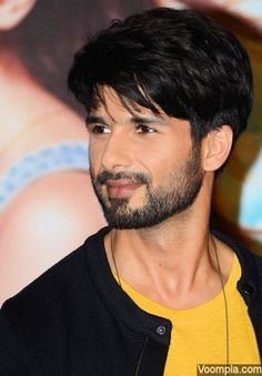 Shahid Kapoor looks cute in this close-up photograph. via Voompla.com