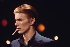 """1976 The release of """"Station to Station"""" in January 1976 introduced Mr. Bowie's last big persona, the Thin White Duke. Aspects of the character borrowed from elements of """"The Man Who Fell to Earth,"""" and the album art features a photograph from the film."""