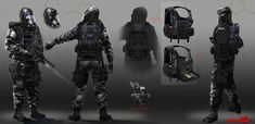 ArtStation - Rainbow Six Siege Hazmat concept, Arman Akopian