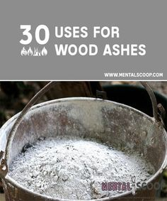 30 Uses for Wood Ashes