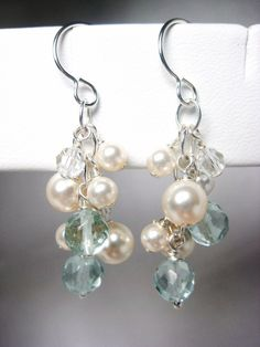 bridesmaid jewelry-- earrings
