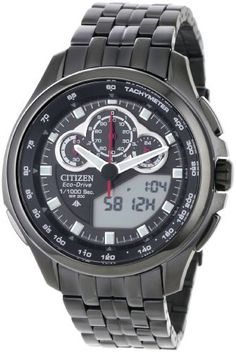 Citizen Men's JW0097-54E Promaster SST Eco Drive Watch Citizen. $442.00. Split lap time. Eco drive technology is fueled by light and it never needs a battery. 1/1000 chronograph; World time. Water-resistant to 660 feet (200 M). Alarm. Save 32% Off!