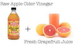 Detox & Cleanse: Apple Cider + Grapefruit Juice elle lush