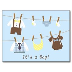 Announce the arrival of the baby boy with this design! It comes with baby boy clothes which include baby diaper, baby socks, smarty bow tie and braces, shirt and shorts, polka dots baby bib, a diamond pattern vest and navy blue tie and a baby creeper.  Background colour can be changed.
