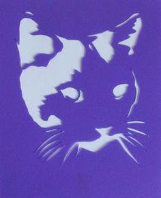 stencils pochoirs: animaux