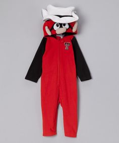 Texas Tech Fleece Playsuit - Infant  by MascotWear on #zulily today!