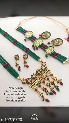 Jewellery Set RAJWAADI HAAR FOR WOMEN  Base Metal: Alloy Plating: Gold Plated Stone Type: Crystals Sizing: Adjustable Type: As Per Image Multipack: 1 Country of Origin: India Sizes Available: Free Size   Catalog Rating: ★4 (469)  Catalog Name: Princess Glittering Jewellery Sets CatalogID_1863649 C77-SC1093 Code: 934-10275720-4911