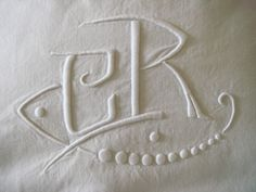 VINTAGE FRENCH BED SHEET1900 LINEN EXCELLENT CONDITION MONOGRAMMED CR | eBay