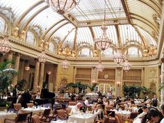 Brunch at the Palace Hotel, SF