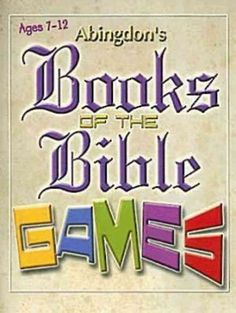 Books of the Bible Games will help students learn the books of the Old and New Testaments through games played in the classroom. Contains reproducible Books of the Bible cards for the students. Over 2