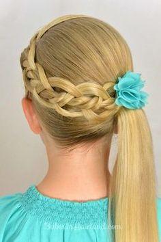 Strand Braid Hairstyle   #hairstylesforkids #kids  http://www.fyglia.com/