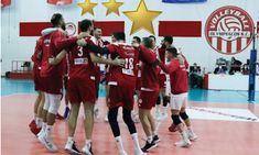 drapetsonavolley: Ολυμπιακός: Το 3ο αστέρι του Αυτοκράτορα! Basketball Court, Sports, Hs Sports, Sport