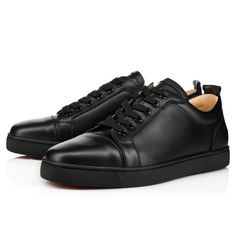 Louis Junior Men's Flat - Red Bottom Christian Louboutin Shoes