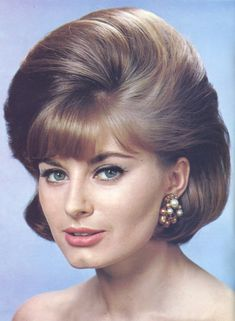 Vintage Hairstyles With Bangs Woman's Own Hair Styles Spr 1964 (washsetstyle) Tags: hair hairdo bouffant hairstyle hairstyles hairdos 1950s Hairstyles, Classic Hairstyles, Fringe Hairstyles, Elegant Hairstyles, Vintage Hairstyles, Hairstyles With Bangs, Bouffant Hairstyles, Gorgeous Hairstyles, Medium Hair Styles