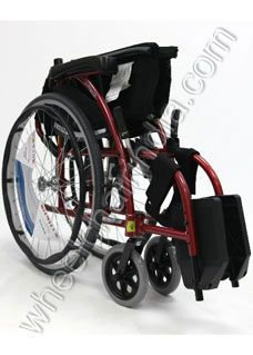 "Karma S Ergo 105 Wheelchair  Karma S Ergo 105 Wheelchair Karma S Ergo 105 Wheelchair Features      High strength, weighs only 12.2 kg. (w/ footrests)     ¼"" thick removable Aegis Anti-Bacterial Upholstery, machine washable / dryable     ""Tube-in Center"" footplate, assures better side leg support     Fixed Footrests     Pouch for carrying small items attached to upholstery behind backrest     7""x1"" Polyurethane front caster"