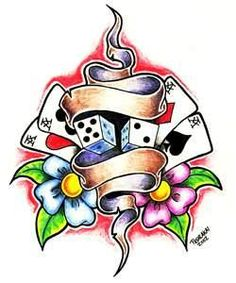 Image detail for -Card Tattoos | Card Tattoo Designs