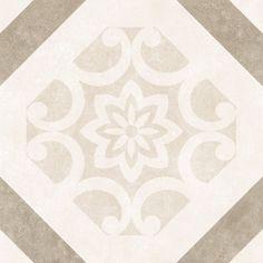 Canvas Decorative Taupe 32.5 cm x 32.5 cm - Baked Tiles
