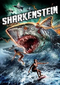 TERROR EN EL CINE. : SHARKENSTEIN. (TRAILER 2016)