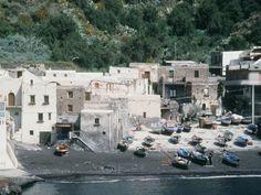 Filicudi, South harbor, Sicily