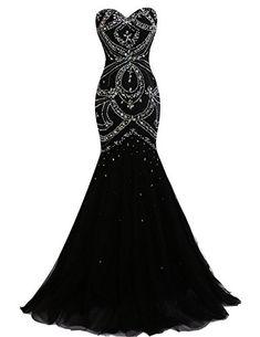 XSWPL Sweetheart Beaded Evening Prom Dress Mermaid Formal... https://www.amazon.com/dp/B01NH36T0I/ref=cm_sw_r_pi_dp_x_L6iCybBANP8CH
