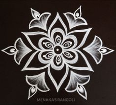 Indian Rangoli Designs, Simple Rangoli Designs Images, Rangoli Designs Latest, Rangoli Designs Flower, Rangoli Border Designs, Rangoli Designs With Dots, Beautiful Rangoli Designs, Free Hand Rangoli Design, Small Rangoli Design