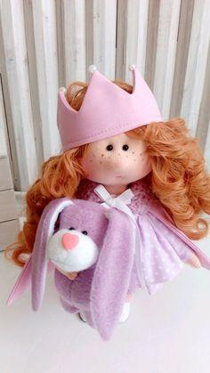 Купить Текстильная куколка. Капризная принцесса - кукла, текстильная кукла, принцесса, кукла в подарок