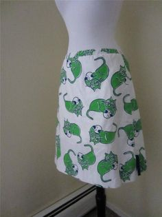 Vested Gentress Skirt Cats Golf Balls