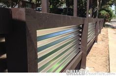 Best Creating A Modern Wood Metal Retaining Wall Fence 640 x 480