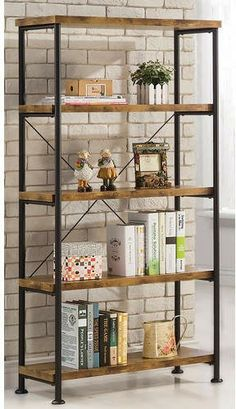Farmhouse shelves! These are darling! #farmhouse #decor #shelves #organization #ad