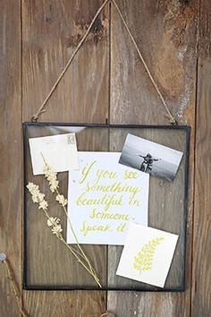 Hanging Metal Double Glass Frame 14 inches x inches -- Find out more about the great product at the image link-affiliate link. Paper Lantern Lights, Glass Picture Frames, Save On Crafts, Double Glass, Hanging Pictures, Diy Frame, Metal Working, Diy Gifts, Gift Ideas