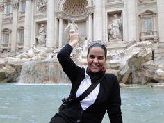 Que tal jogar uma moedinha e fazer um pedido na Fontana di Trevi?