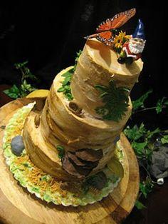 Woodlands Theme Wedding: