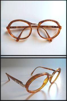 007a30b9948 vintage Dior Golden Bridged Tortoise Shell Eyewear Frames
