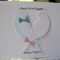 Serene Bird, Family Ties Memory Box · Heart Prints