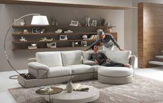 Obývák a ložnice v jednom