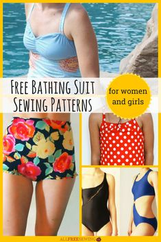 19 Best How To Make A Swimsuit Images Sewing Ideas Sewing