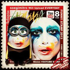 Minion Lady Gaga