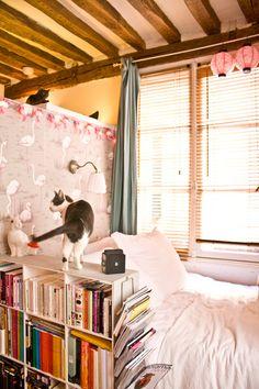 um pequeno apartamento em Paris