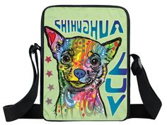 Basset Hound Chihuahua Luv Thoughtful Pitbull Husky Pug Oil Canvas Mini Messenger Bag Cross Body Bags  Price: 15.00 & FREE Shipping  #pets #dog #doglovergifts
