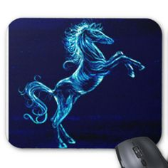 Wild Horse Mousepad, I did this image using a bleaching technique.