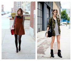 3 maneiras de usar vestido no frio! #look #dicas
