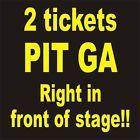 Ticket  Dierks Bentley 2 PIT GA tickets Allen County War Memorial Coleseum Fort Wayne #deals_us