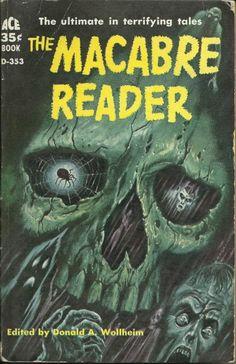 The Macabre Reader, 1959 horror pulp novel from blueruins