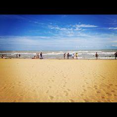 Sandy beach in Bibione #italy #sea #holiday #summer #bibione
